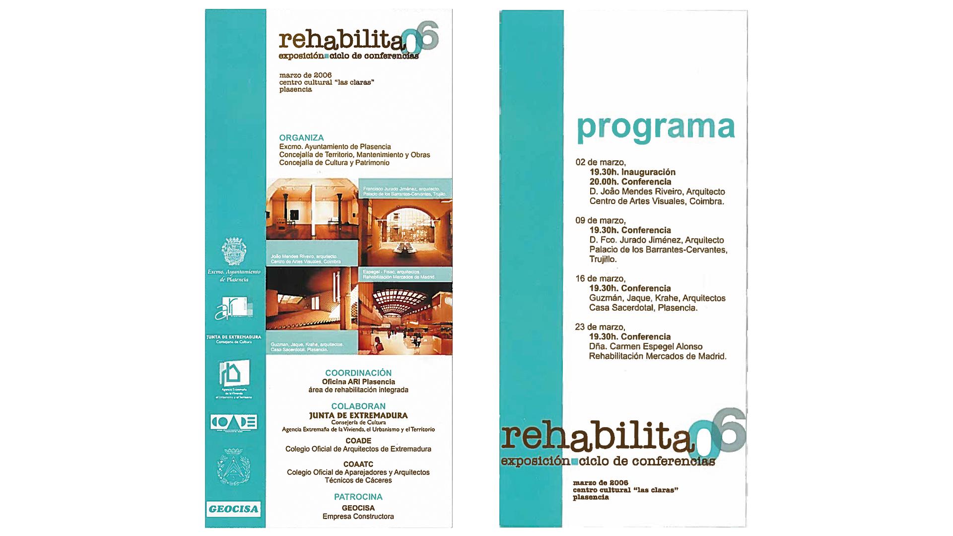 programa rehabilita 2006 plasencia