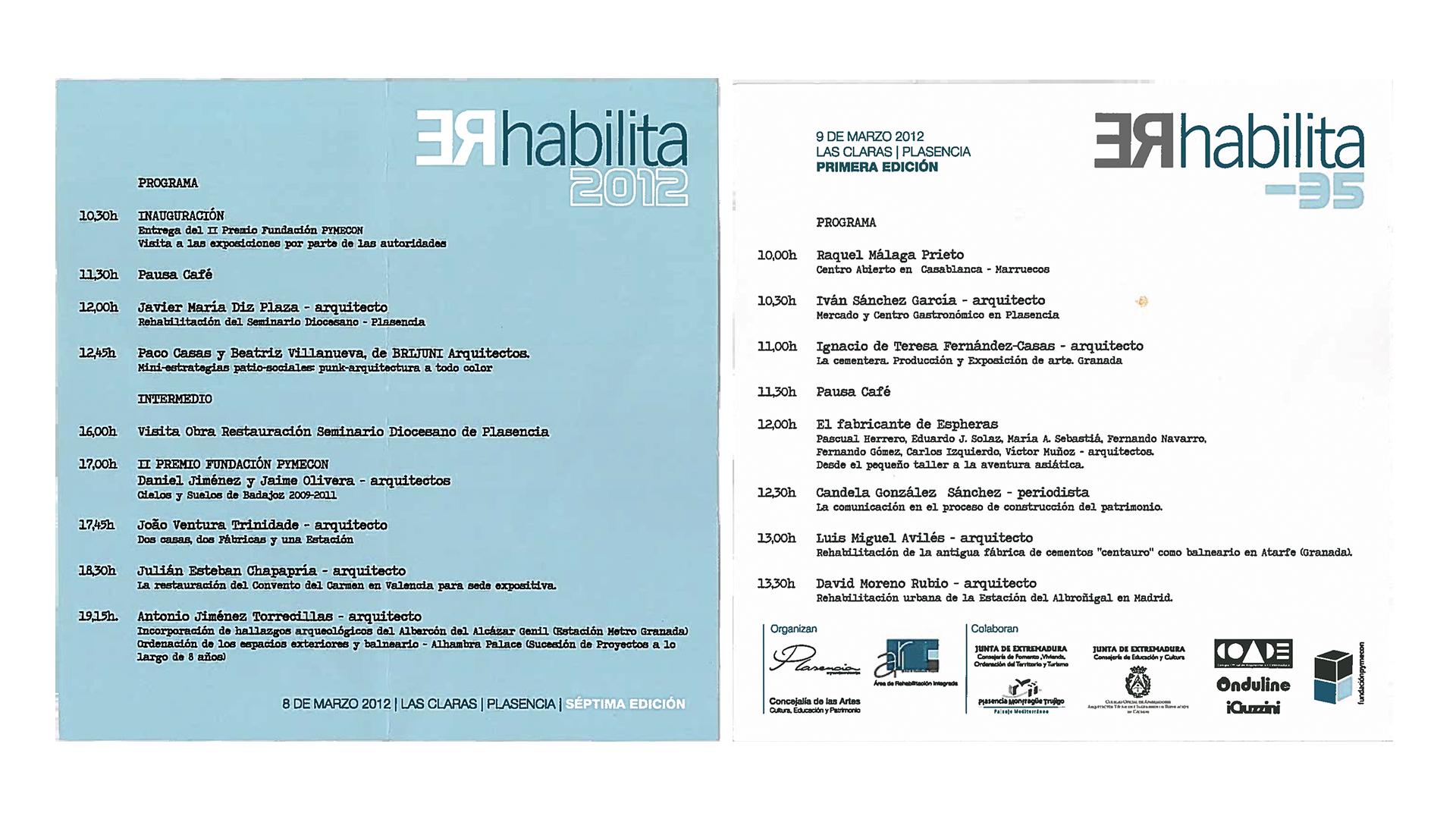 programa rehabilita 2012 plasencia